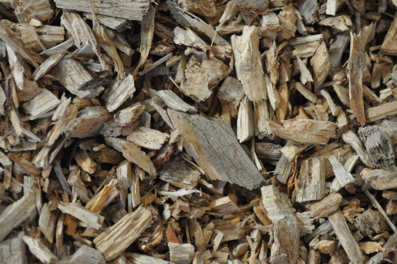Picture of woodchip - closeup
