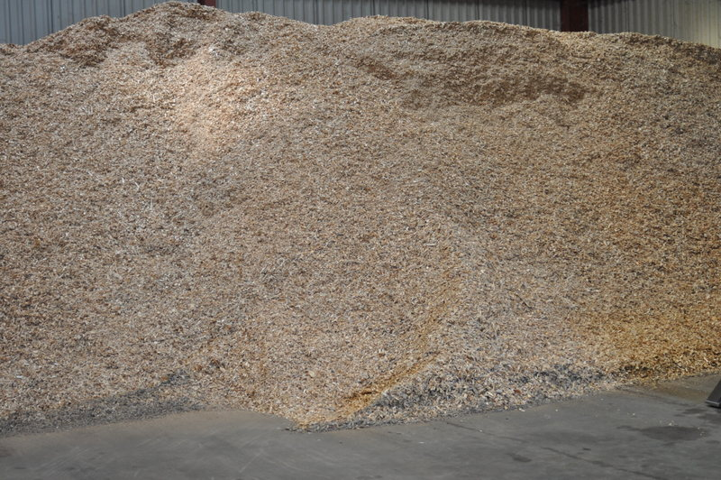 Picture of bulk woodchip